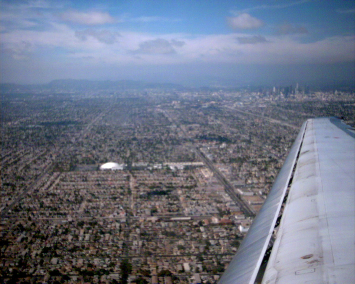 Flying into L.A. with apprehension....