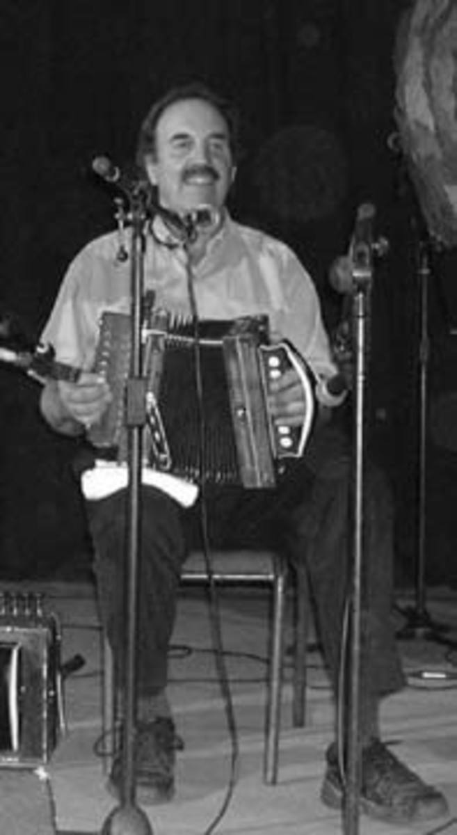 Cajun accordion maker and player Marc Savoy
