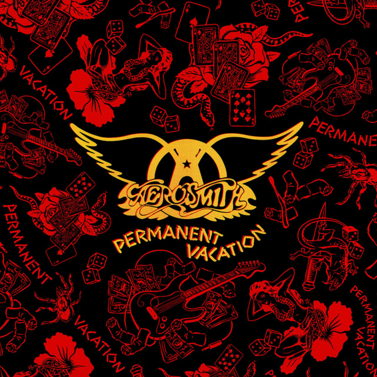 "Aerosmith ""Permanent Vacation"" Geffen Records GHS 24162 12"" LP Vinyl Record, US Pressing (1987)"