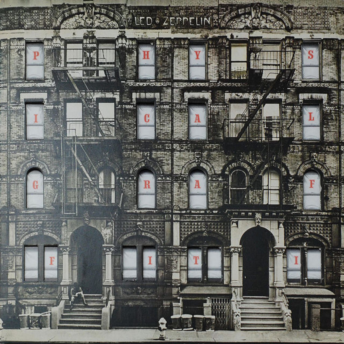 "Led Zeppelin ‎""Physical Graffiti"" Swan Song Records	SSK 89400 2-12"" LP Vinyl Record Set,	UK Pressing	(1975)"