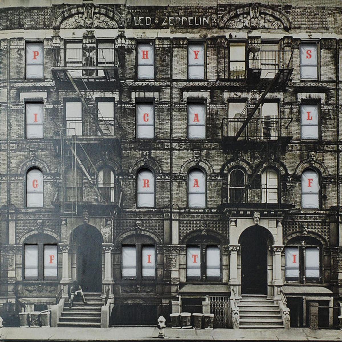 "Led Zeppelin ""Physical Graffiti"" Swan Song RecordsSSK 89400 2-12"" LP Vinyl Record Set,UK Pressing(1975)"