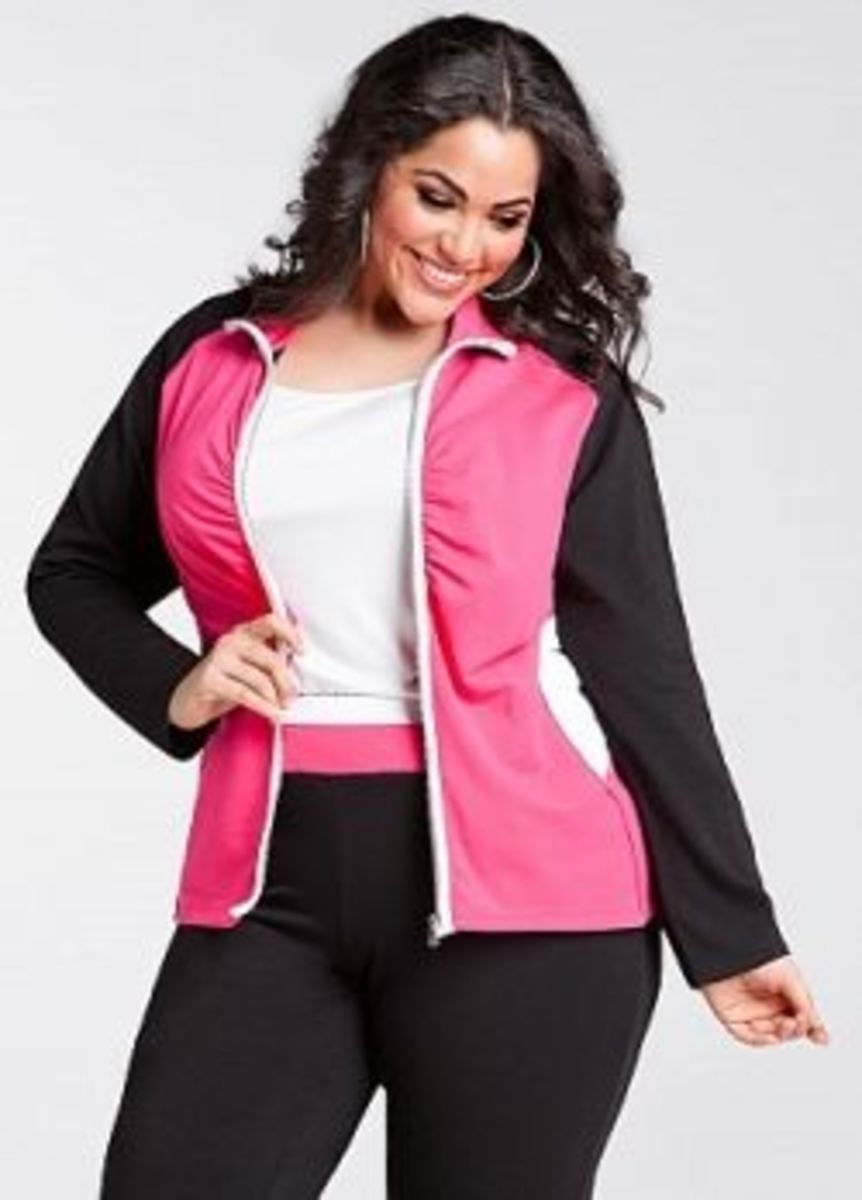 Plus size active and day wear from Ashley Stewart.