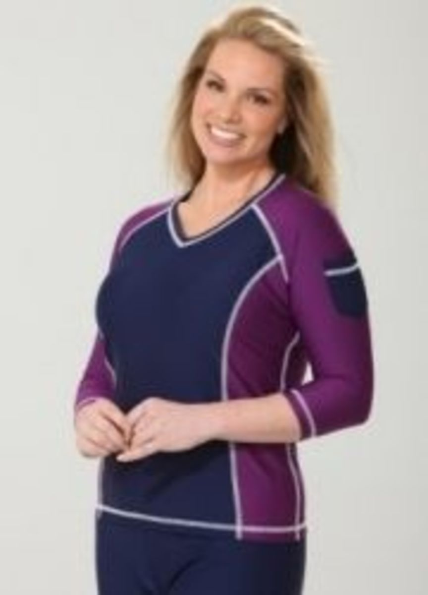 plus size active wear from Hydro Chic