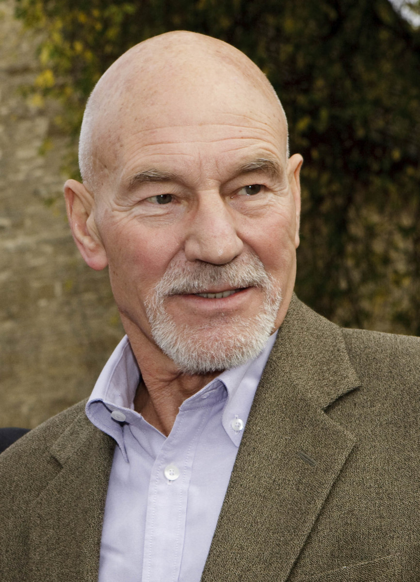 Are you afraid of Patrick Stewart? You may suffer from Peladophobia.