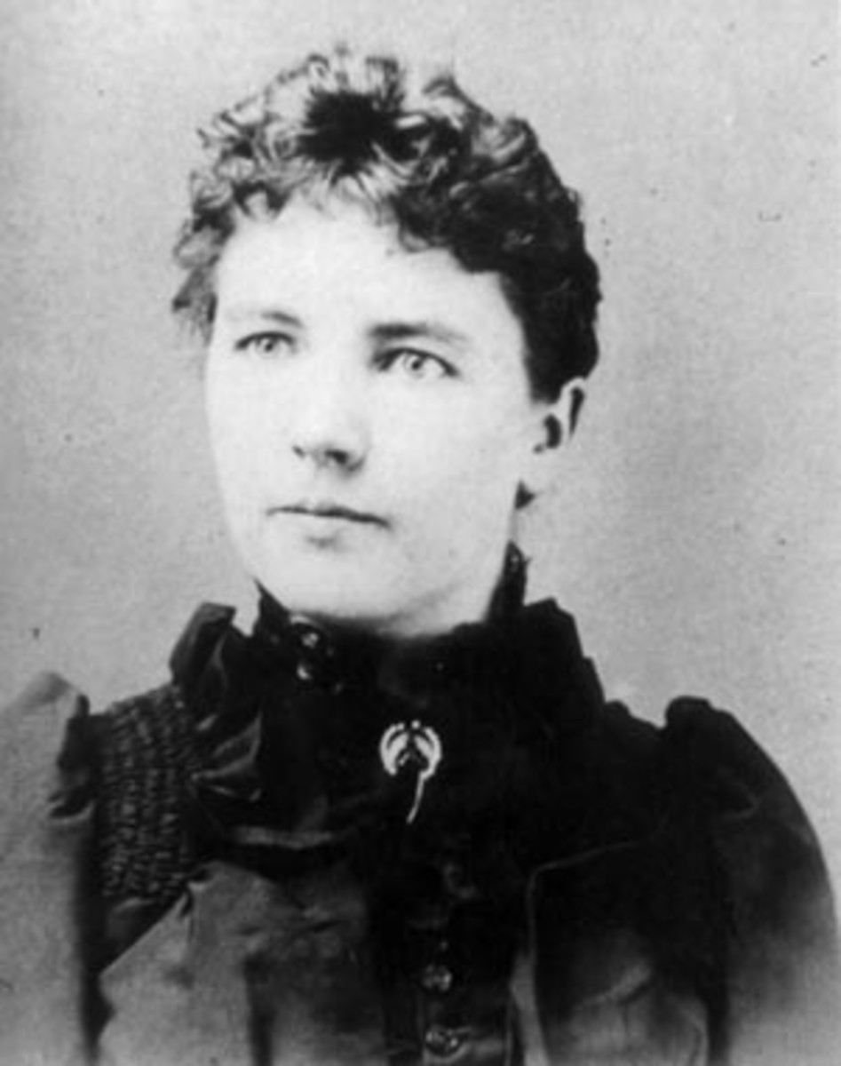 Laura Ingalls married Almanzo Wilder when she was eighteen. She gave birth to Rose Wilder Lane when she was nineteen Credit: Wikipedia
