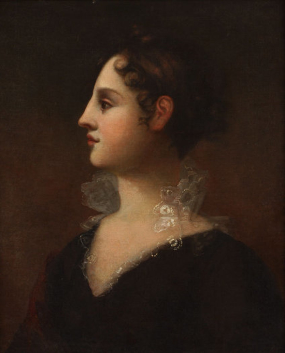 Portrait of Theodosia by John Vanderlyn Theodosia married when she was seventeen and gave birth to her only son in the following year. Credit: Wikipedia