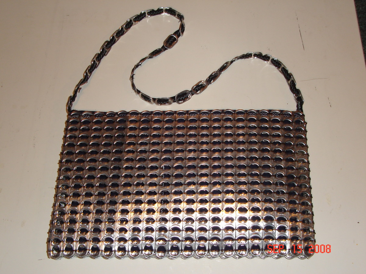 How to make a pop tab purse