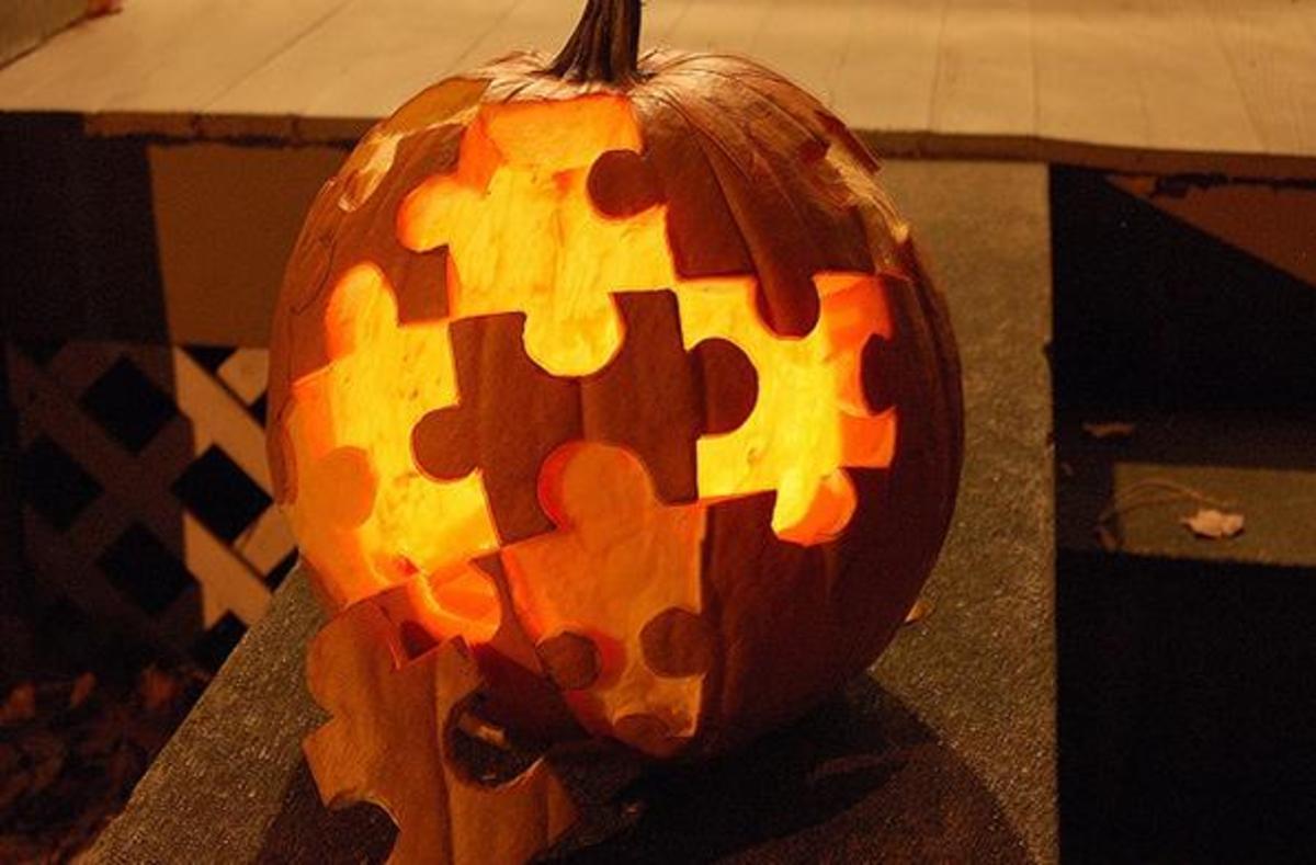 Jack-o-Lantern Jigsaw Puzzle
