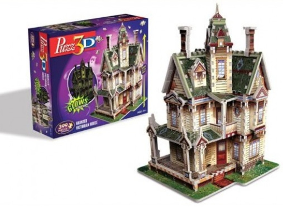 Haunted House Jigsaw Puzzle