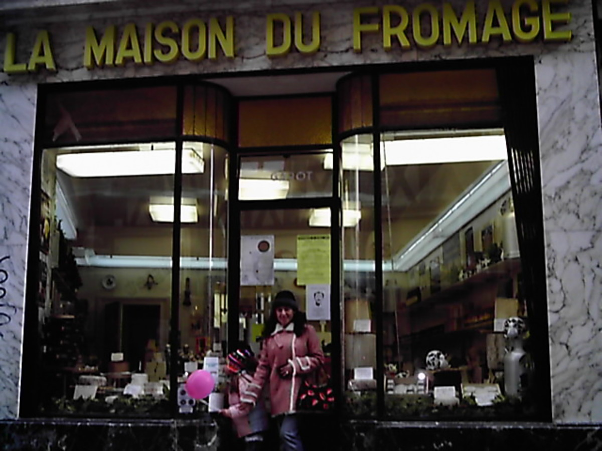 La Maison du Fromage (The Cheese House) in Limoges, France.  We waited at the door for an hour, during one of the coldest winters in the area, before the lady sitting inside looking at her clock decided that it was openning time!