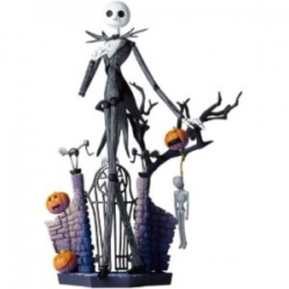 Nightmare Before Christmas Revoltech SciFi Super Poseable Action Figure #005 Jack Skellington
