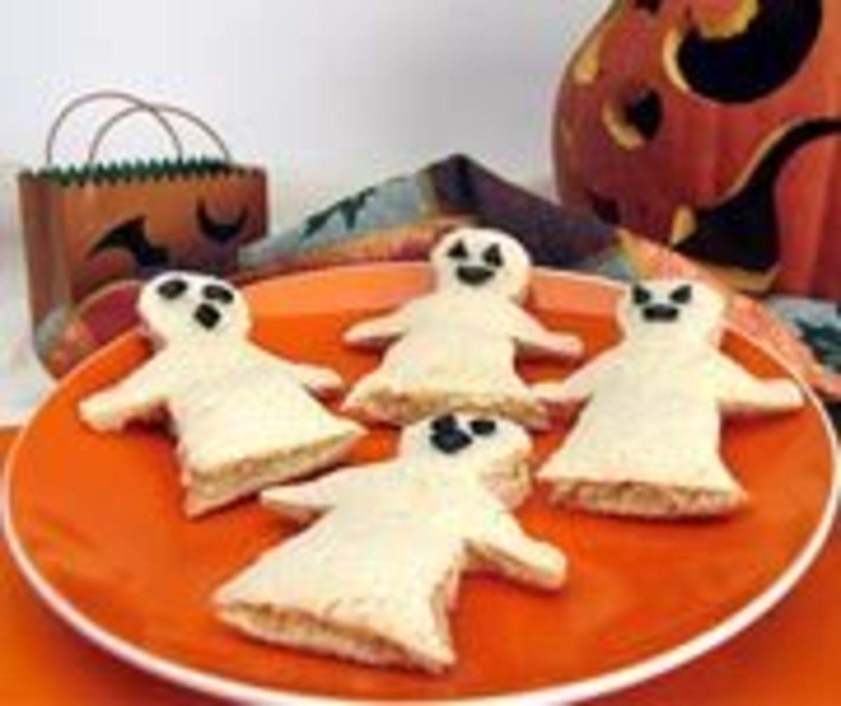Halloween ghost cookie