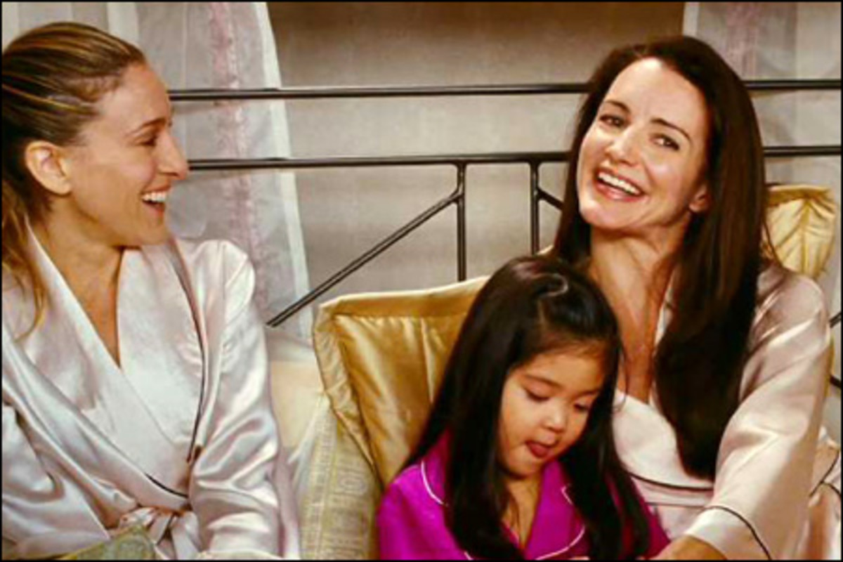 Carrie, Charlotte, and Lily