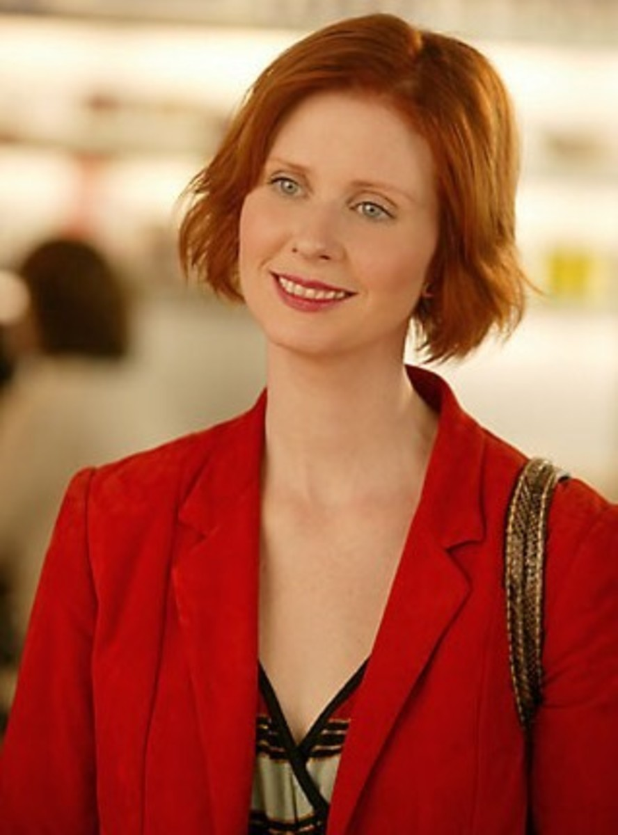 sex and the city girls miranda hobbes. Black Bedroom Furniture Sets. Home Design Ideas