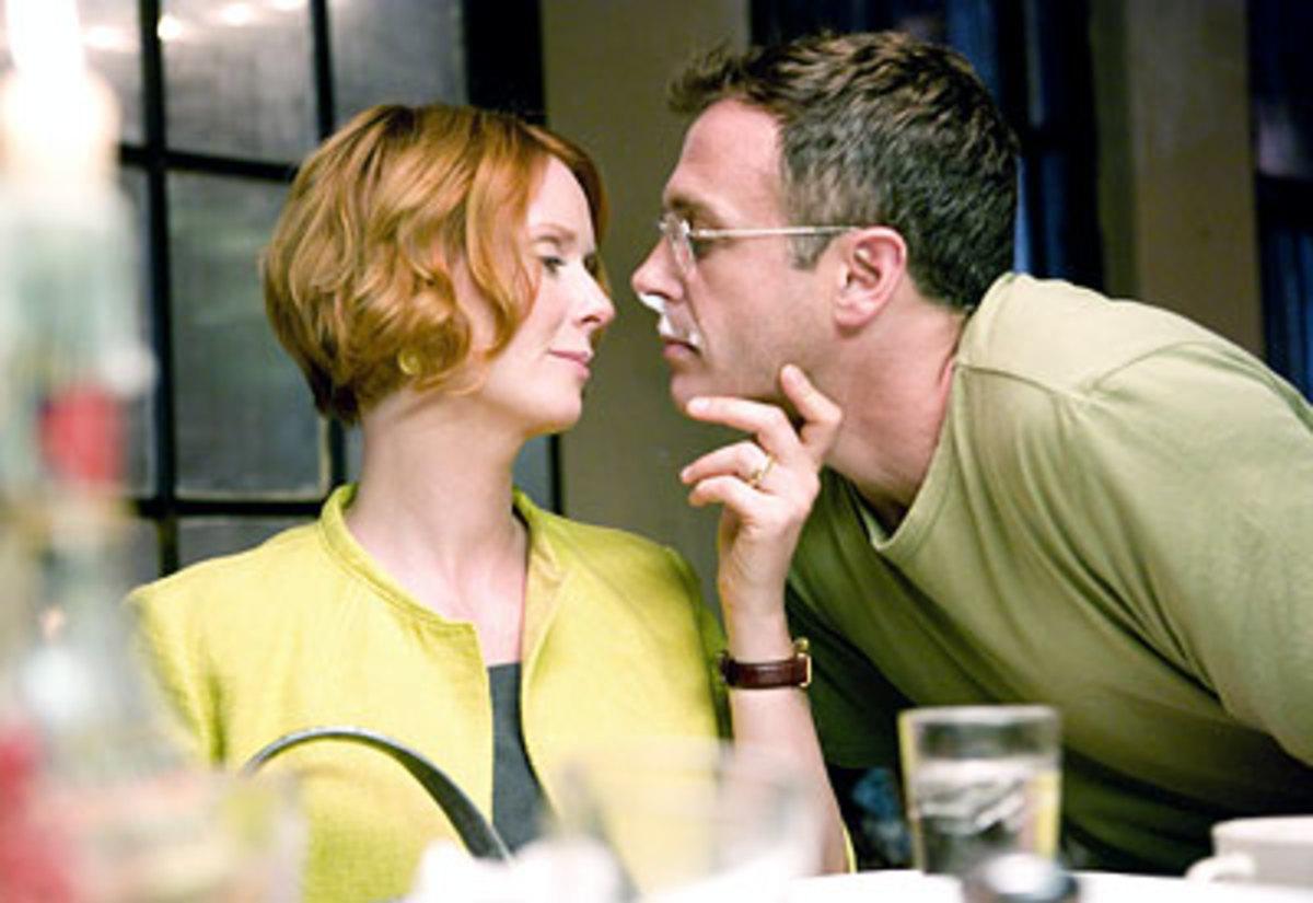 Steve and Miranda