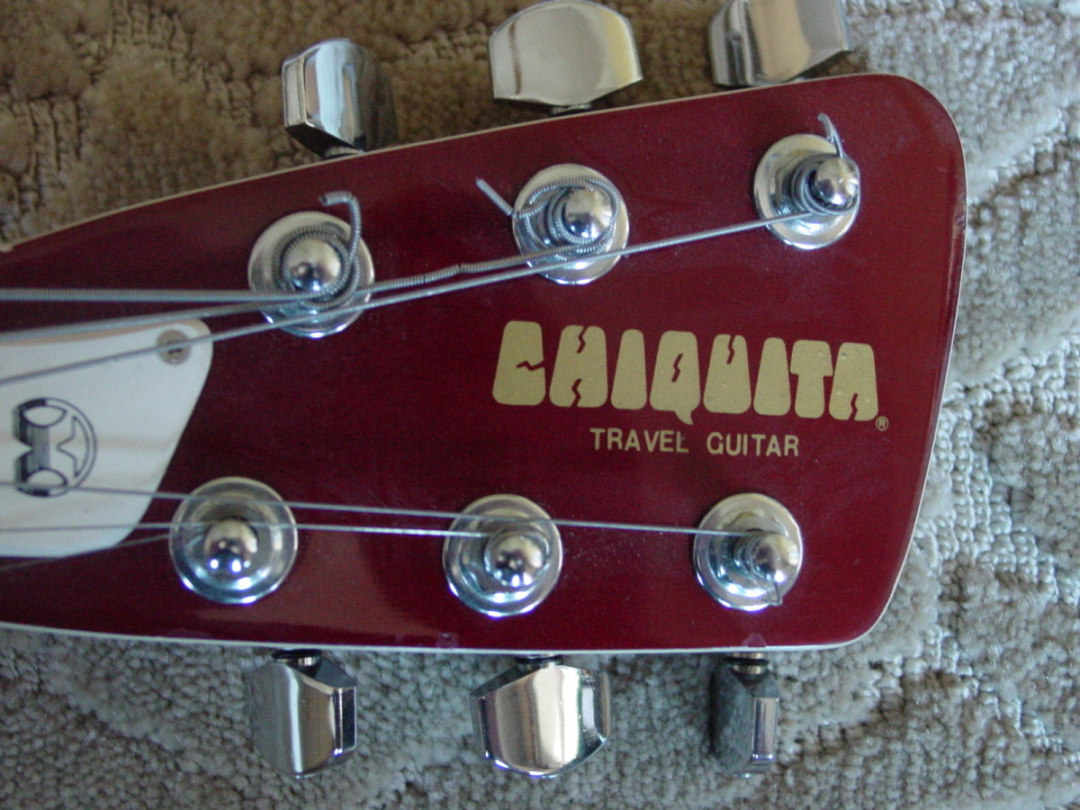 Headstock with Tuner Keys detail