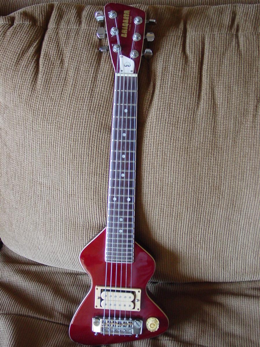 My 1983 Hondo Chiquita Travel Guitar