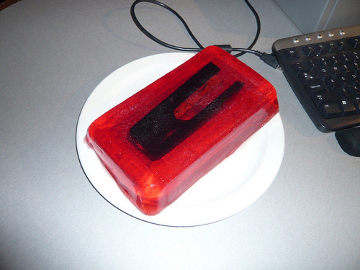 Stapler Sealed in Jelly