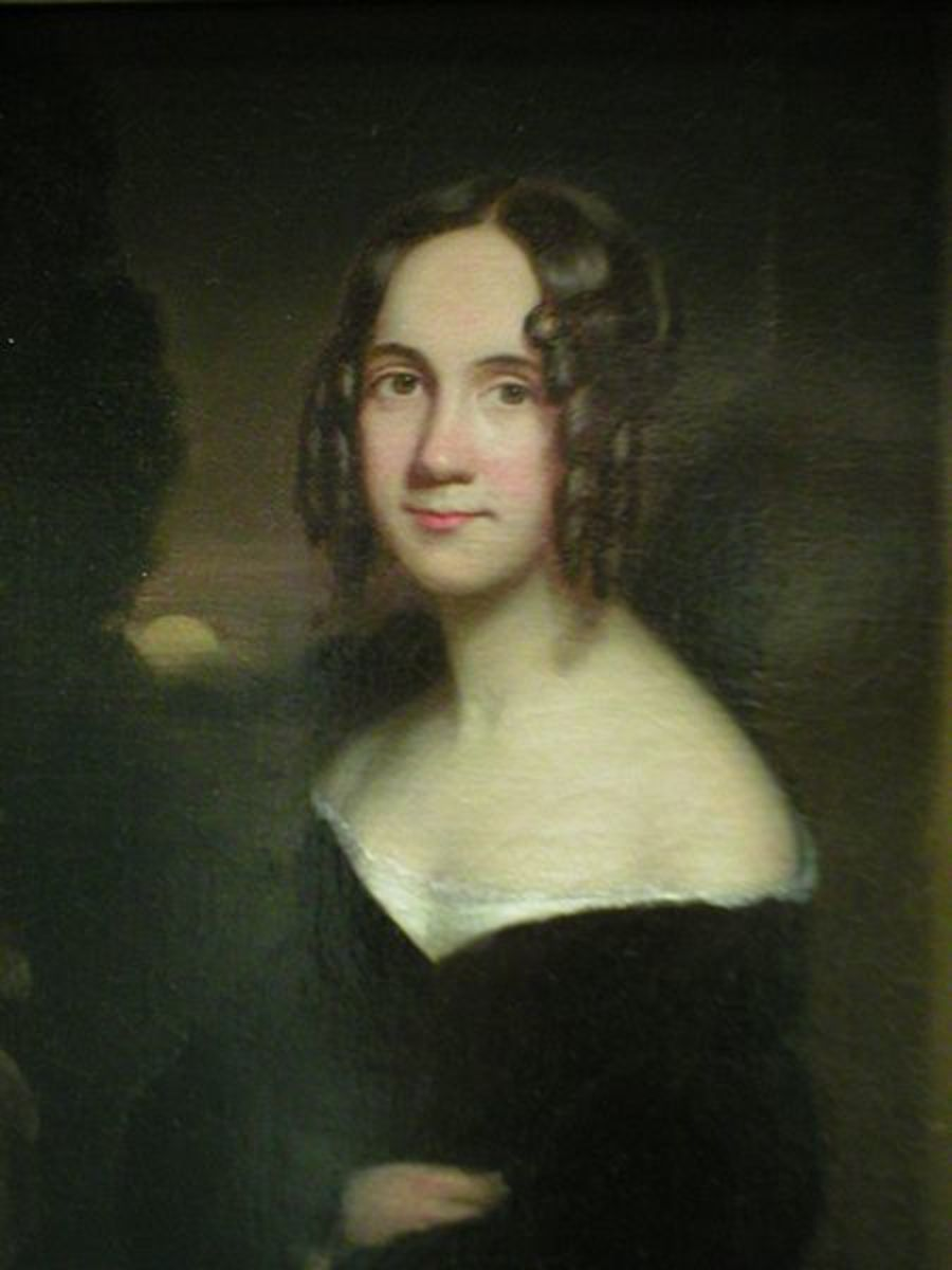 Sarah Hale, who wanted a black-clad Pilgrim Thanksgiving and got it.