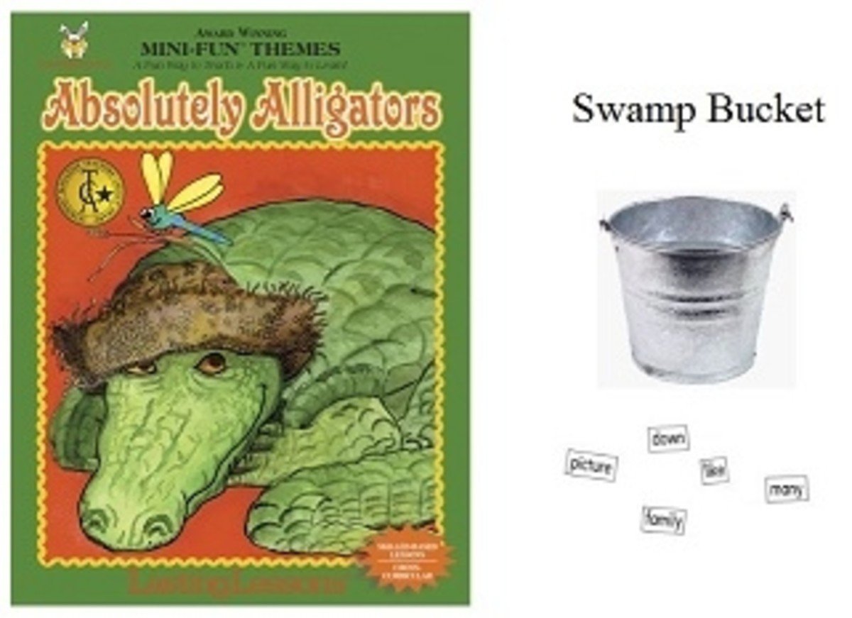 Avsolutely Alligators Swamp Bucket Activity