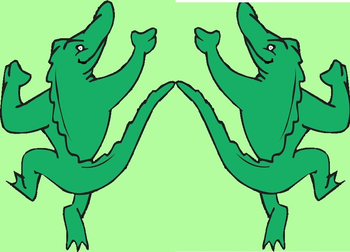 Dancing Alligators