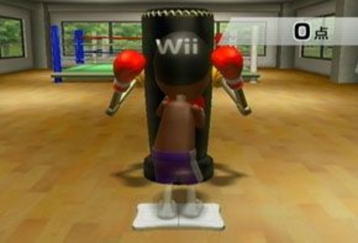 The best time to throw your punch is right after the target appears on the punching bag