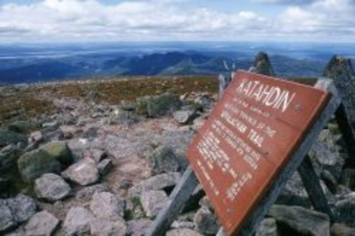 Appalachian Trail -- Mt. Katahdin