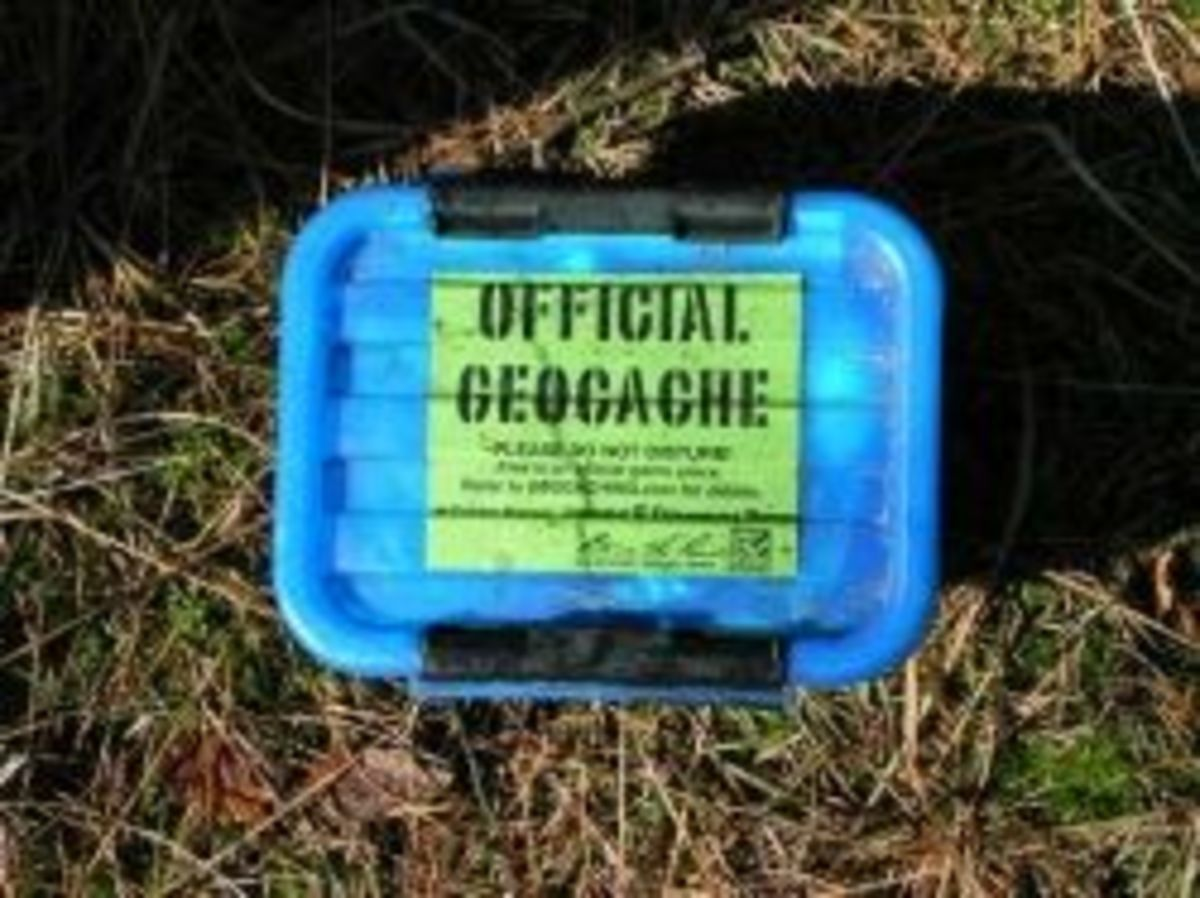Geocaching is outdoor adventure