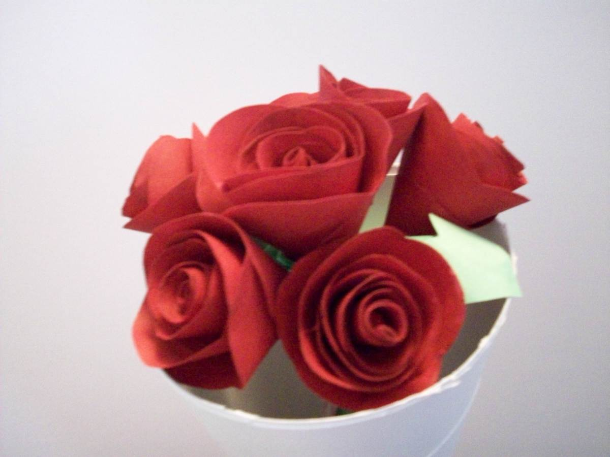 How to Make Paper Roses | hubpages - photo#19