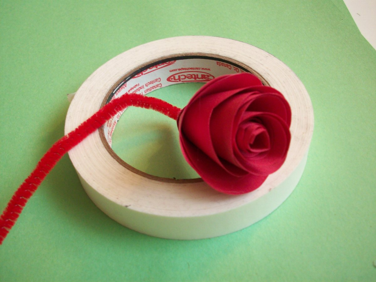STEP 8 - How to Make Paper Roses