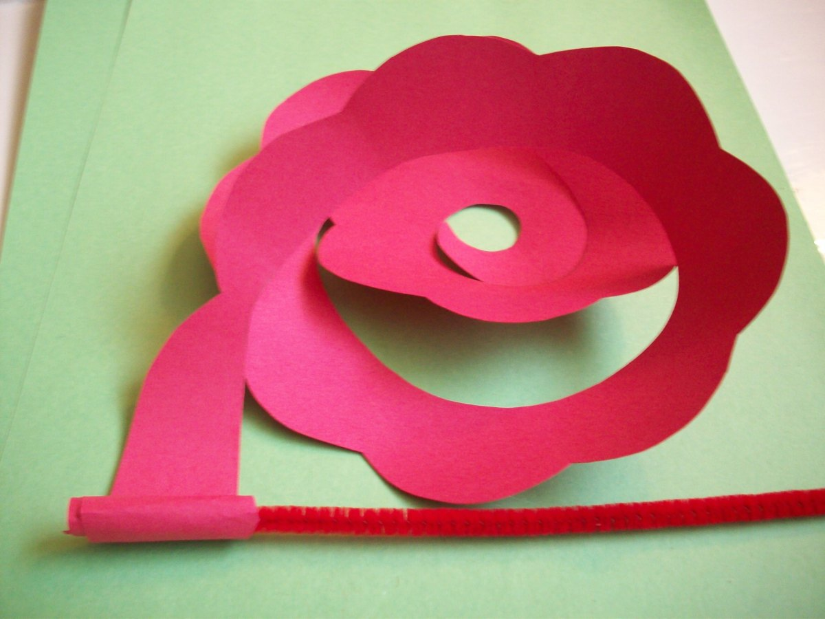 STEP 5 - How to Make Paper Roses