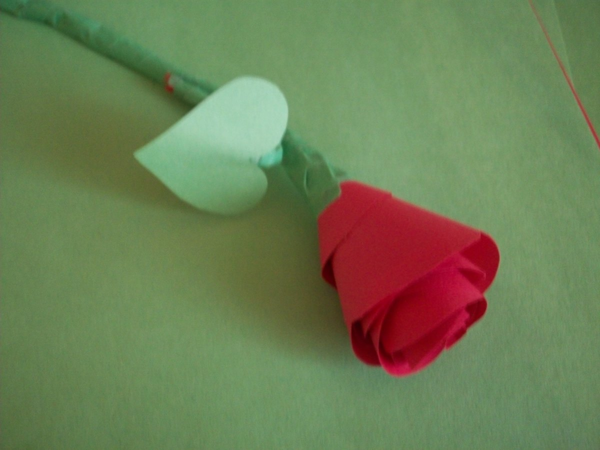 STEP 12 - How to Make Paper Roses