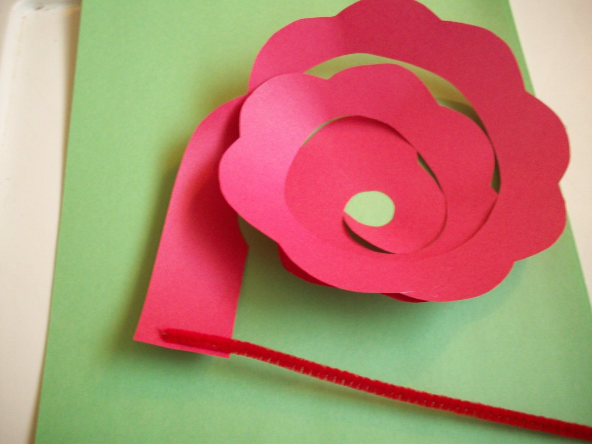 STEP 4 - How to Make Paper Roses