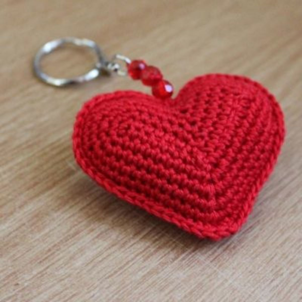 Heart Keychain (folksy.com)