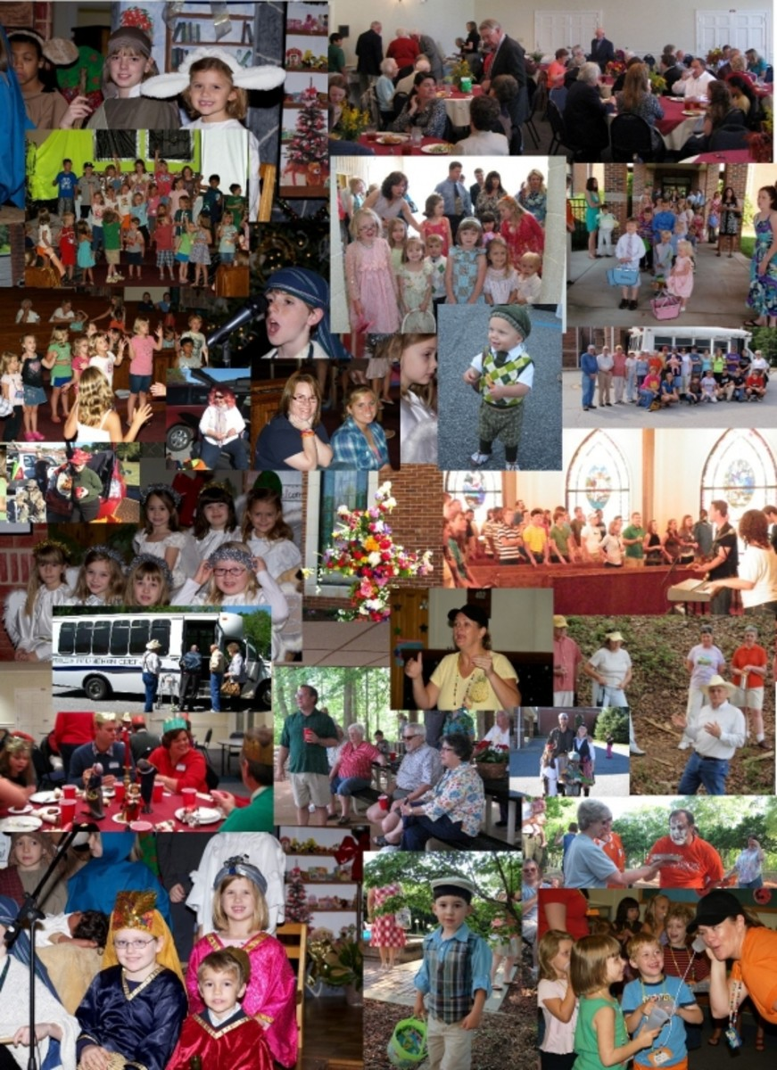 Special Events Collage at Pendleton United Methodist Church