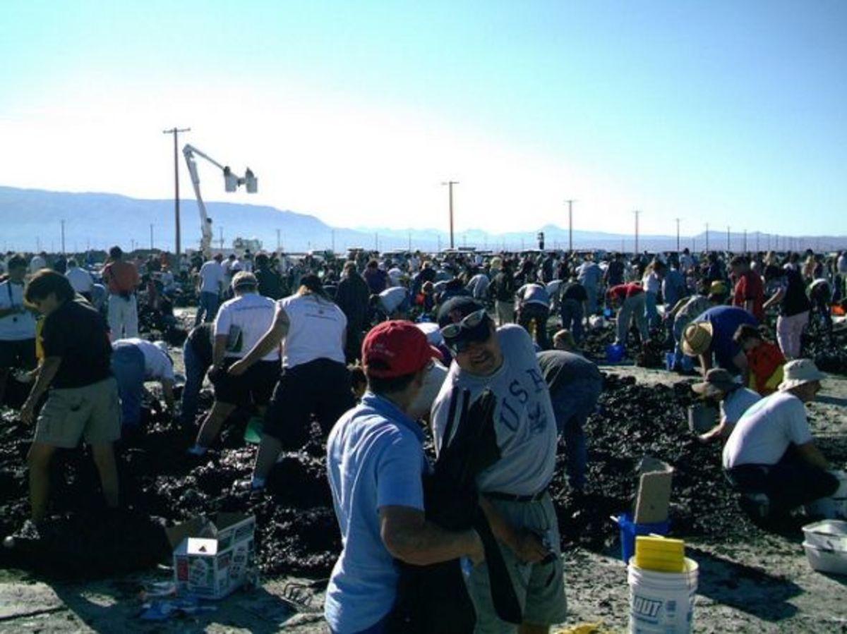 Dirty Jobs at Searles Lake