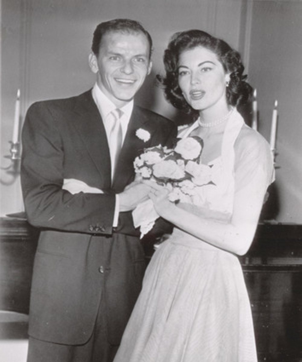 Ava and Frank Sinatra