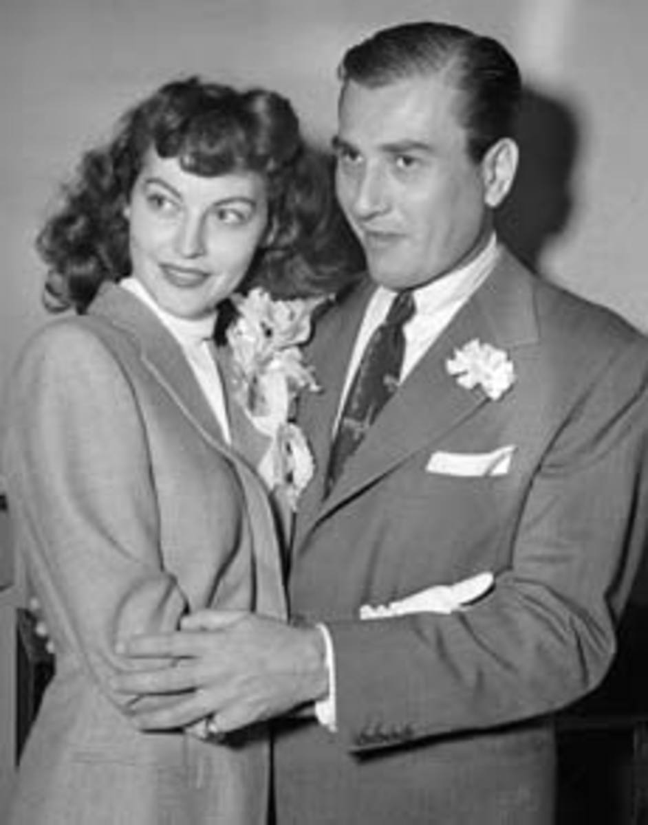 Ava and Artie Shaw