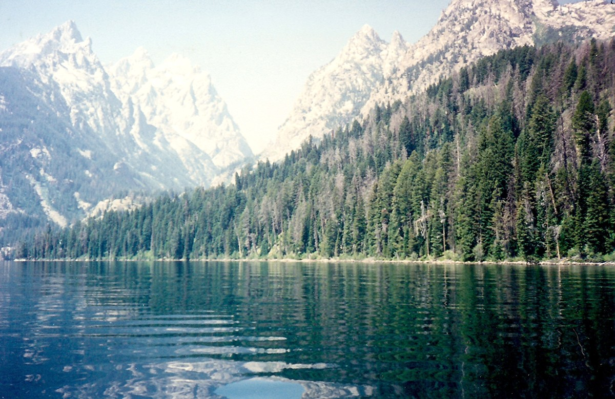 Jenny Lake in Wyoming - Grand Tetons National Park - Photos