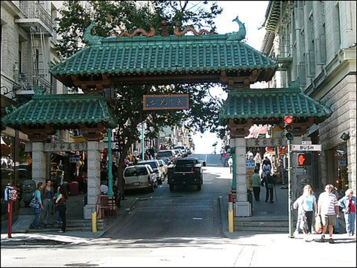 Entrance To San Francisco China Town