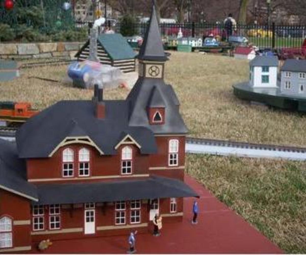 The National Christmas Tree Railroad view B