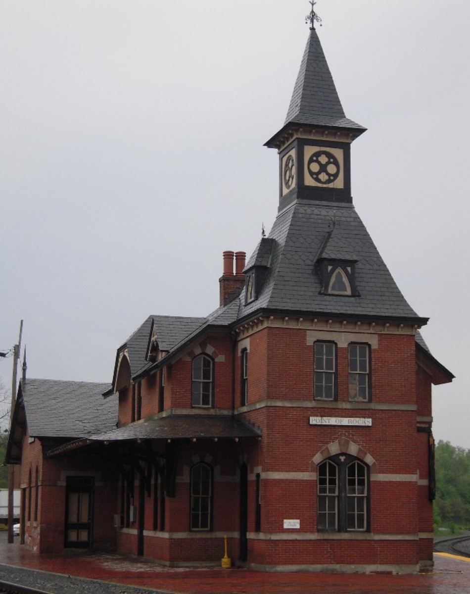 The real station located in the state of Maryland