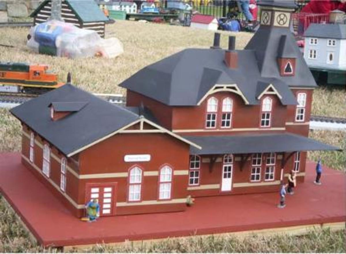 The National Christmas Tree Railroad View A