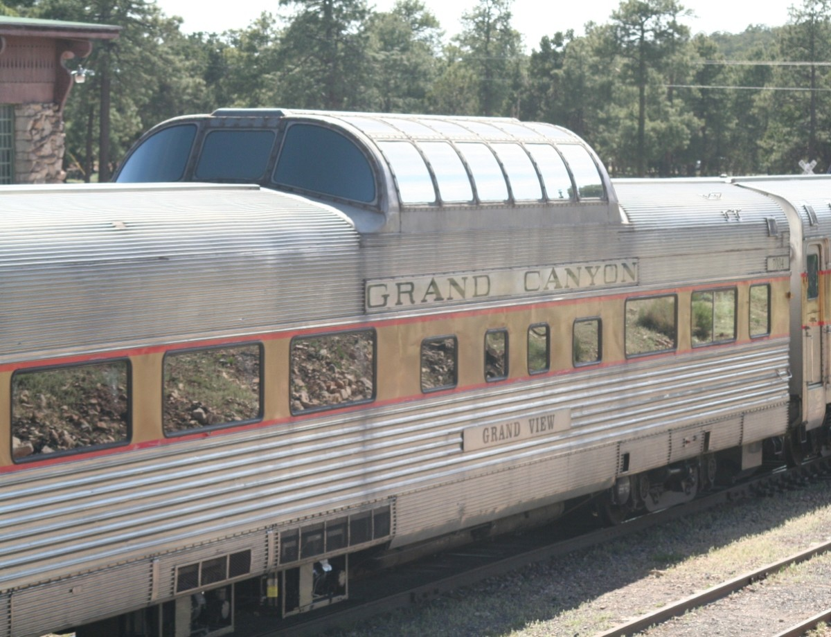 Grand Canyon Railroad, Dining and ObservationCar