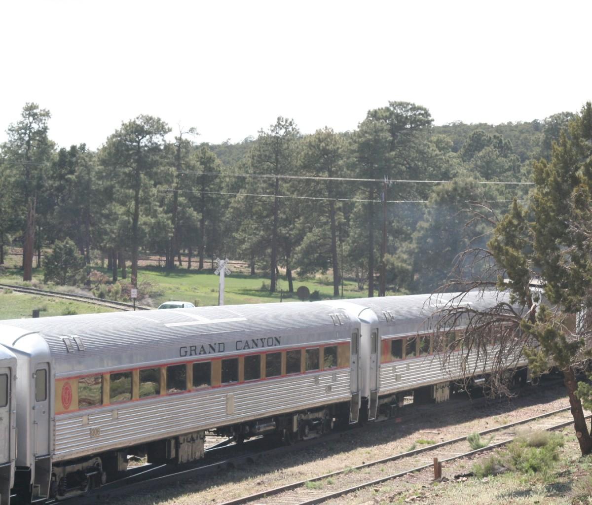 Grand Canyon Railroad Passenger Cars