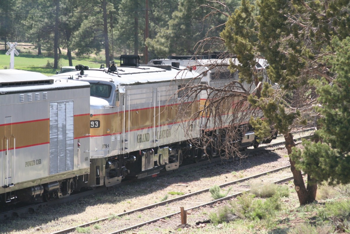 Grand Canyon Railroad Diesel Engines