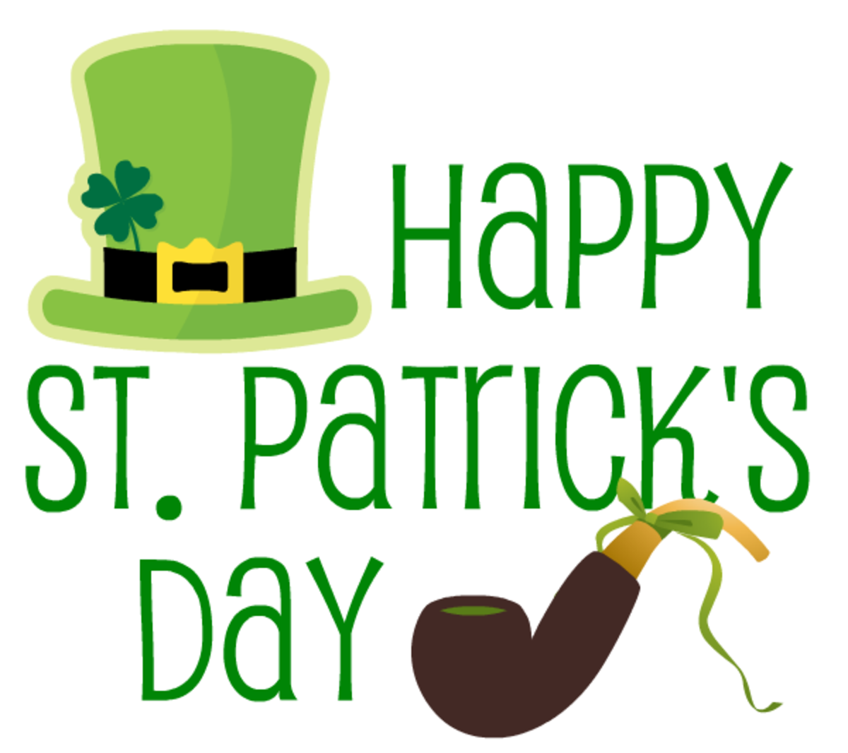 Please scroll down to see all the free St. Patrick's Day clip art