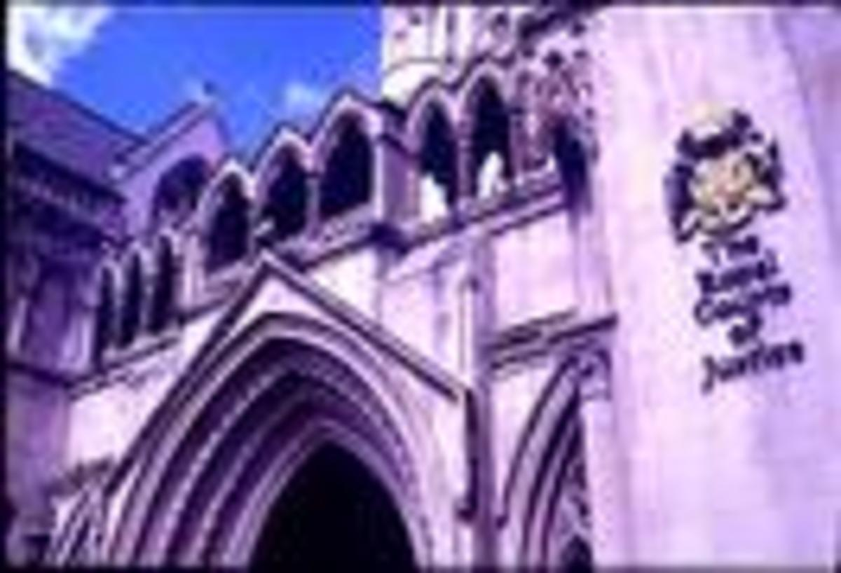 The Royal Courts of Justice on the Strand
