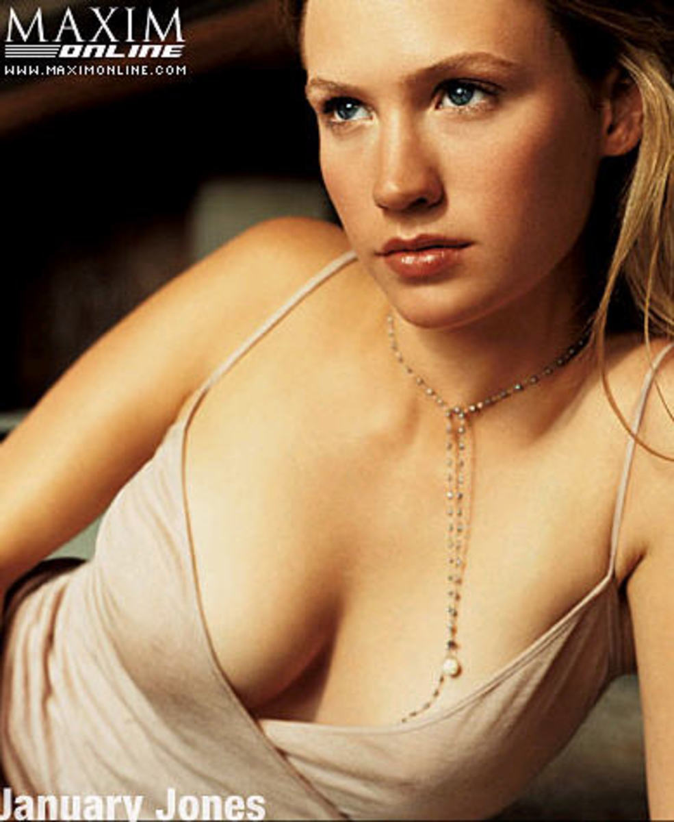 January Jones Maxim pic #3