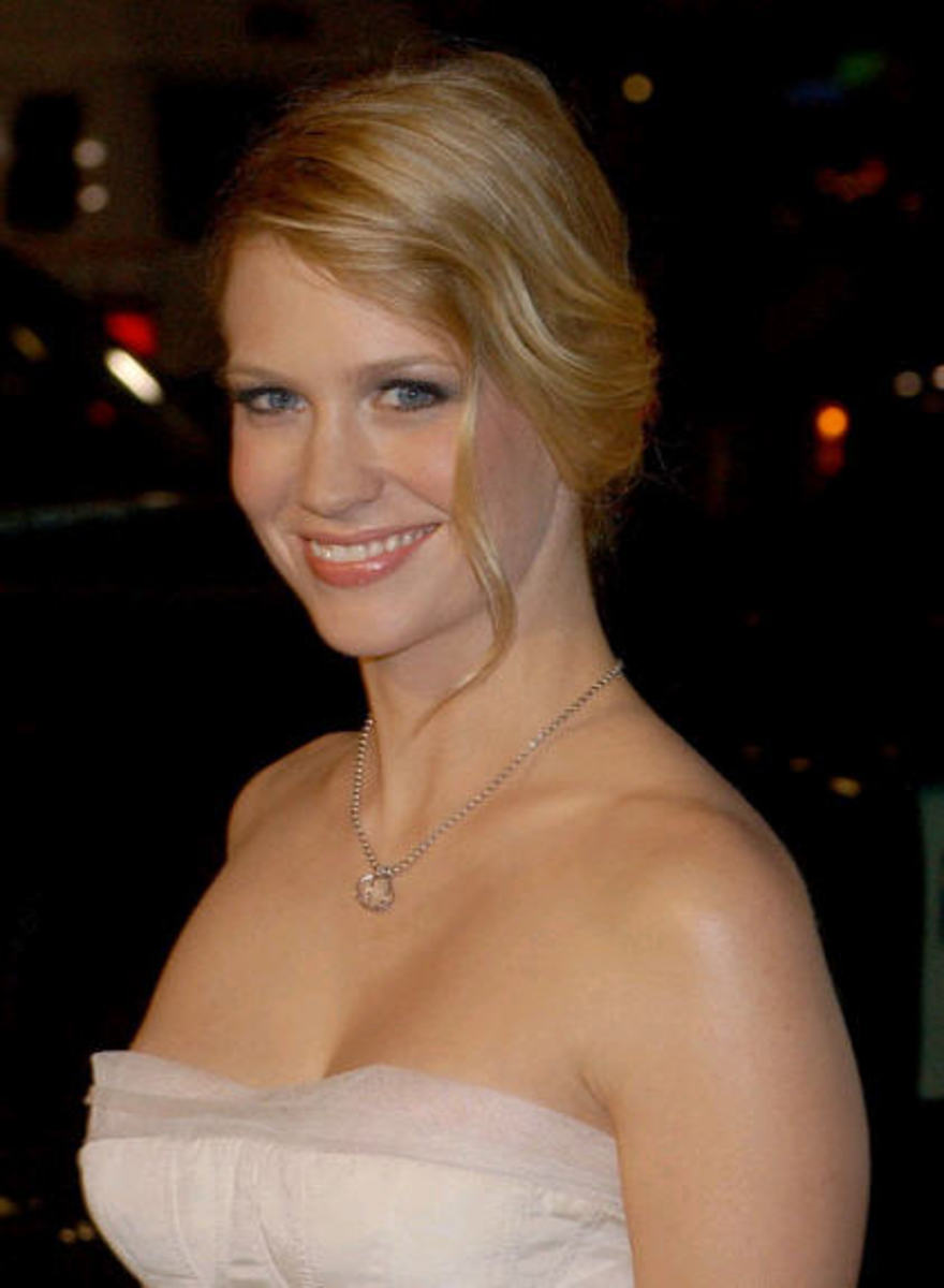 January Jones hot photo gallery pic